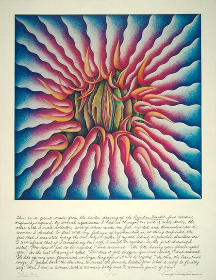 Judy Chicago, 'Peeling Back', 1974