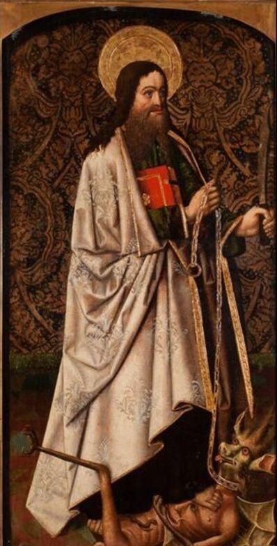 Fray Alonso de Zamora (attributed to), 'Saint Bartholomew Vanquishing a Demon'