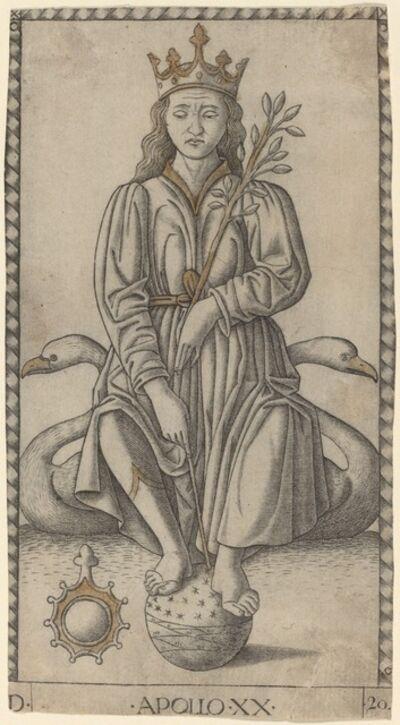 Master of the E-Series Tarocchi, 'Apollo', ca. 1465