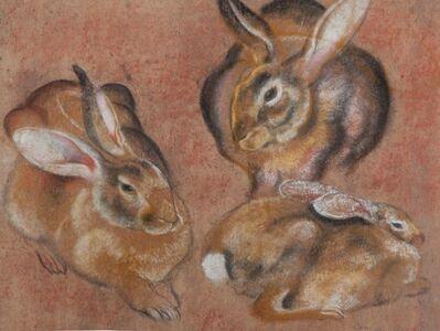 Camille Roche, 'Rabbit Family'