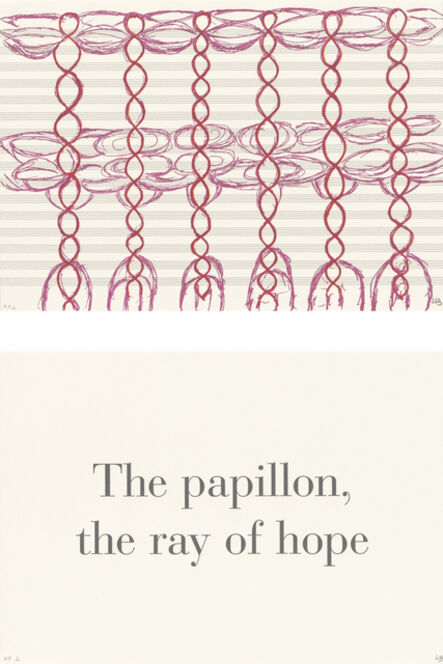 Louise Bourgeois, 'The Papillon, the Ray of Hope', 1999