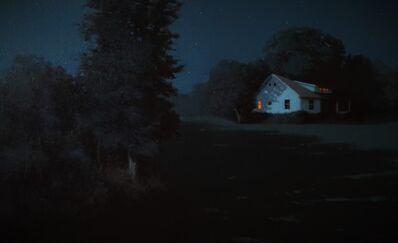 Kevin Sanders, 'Moonlit Country House', 2016