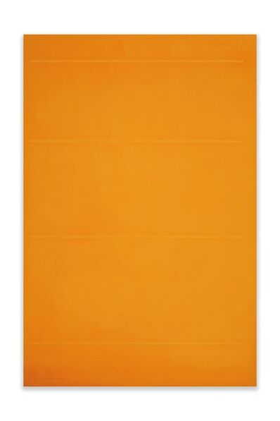 Jeff Kellar, 'Lined Space Orange 2', 2020