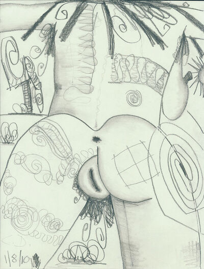 Carroll Dunham, 'Untitled (1/8/10)', 2010