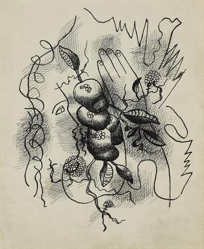 Fernand Léger, 'Composition au profil et à la main', ca. 1941