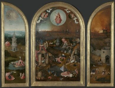 Hieronymus Bosch, 'The Last Judgment Triptych', 1505-1515
