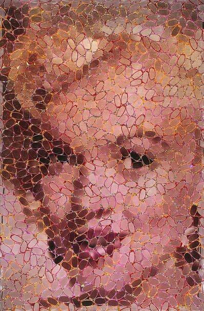 David Datuna, 'Marilyn: Champagne and Diamonds', 2015