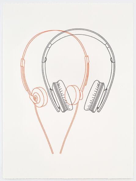 Michael Craig-Martin, 'Wired / Wireless', 2017
