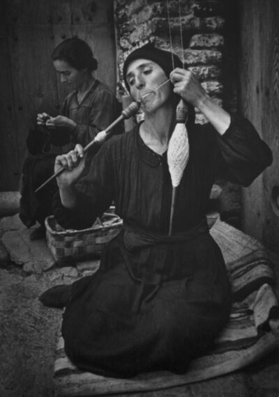 W. Eugene Smith, 'The Spinner, from Spanish Village', 1950