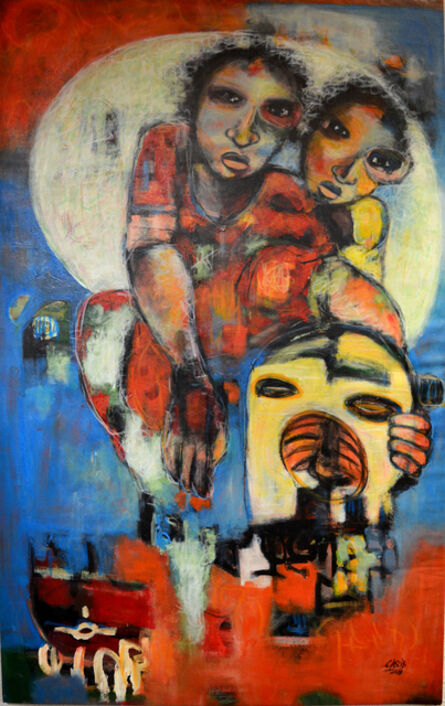 Casimir Bationo, ' La Renaissance', 2018