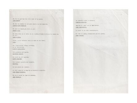 Ricardo Carreira, 'Sin título', 1986-1993