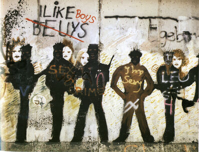 Leland Rice, 'Sex and Crime (Berlin Wall Series)', 1984-1988