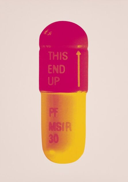Damien Hirst, 'The Cure - Powder Pink/Lollypop Red/Golden Yellow', 2014