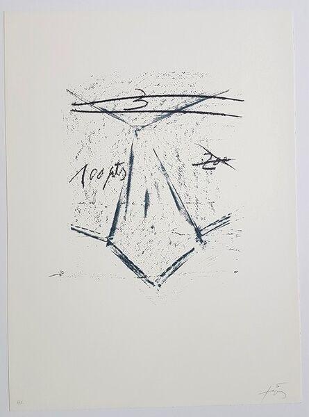 Antoni Tàpies, 'Llambrec-12', 1975