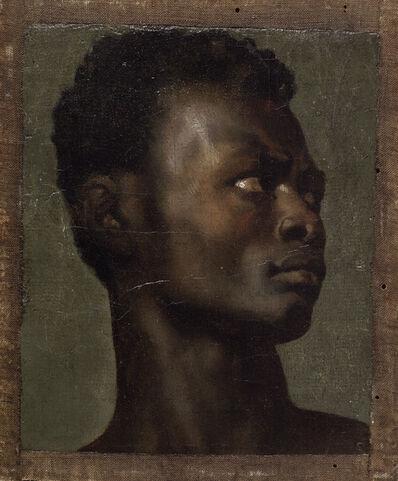 Jean-Paul Flandrin, 'The Head of an African', ca. 1839