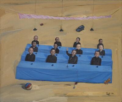 Tang Zhigang 唐志剛, 'Children in Meeting', 1998