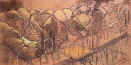 Norman Cornish, 'Busy bar'