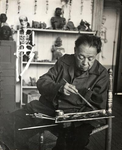 Bernice Kolko, 'Diego Rivera in his Studio', 1955