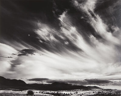 Ansel Adams, 'Moon and Clouds, Northern California', 1959