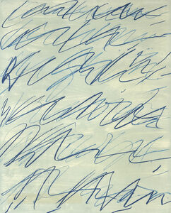 Cy Twombly, 'Roman Notes I', 1970