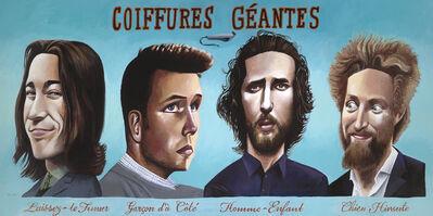 Mark ULRIKSEN, 'Coiffures Géantes', 2018