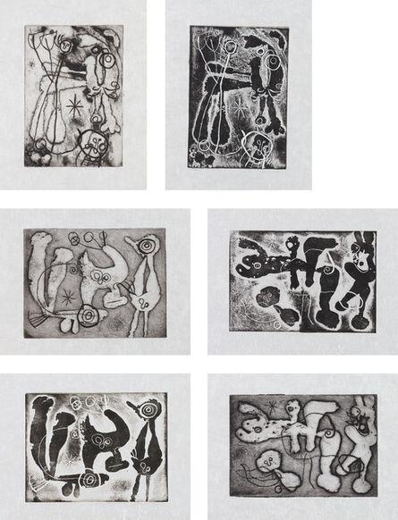 Joan Miró, 'Anti-Platon (Anti-Plato) (D. 312, 317, 325-6 and 334-5; C. 77)', 1962