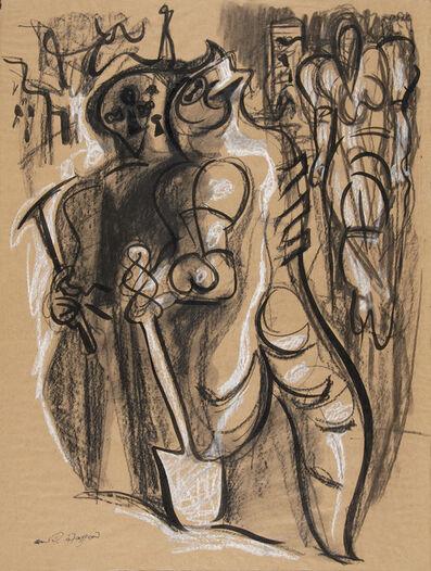 André Masson, ' Serruriers (Locksmiths)', 1946