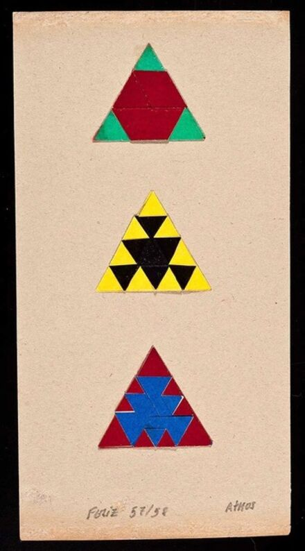 Athos Bulcão, '11 trabalhos', 1955