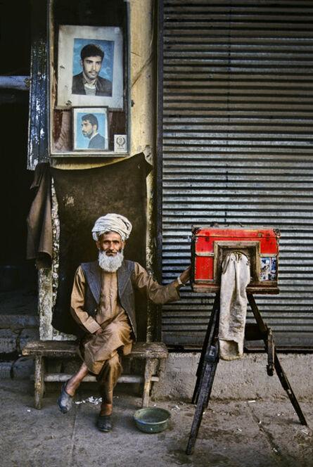 Steve McCurry, 'portrait photographer, Afghanistan', 1992