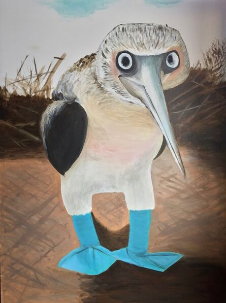 Gemma Kahng, 'blue footed booby ', 2019