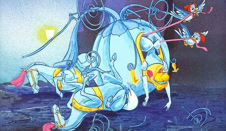 Jeff Gillette, 'Cinderella Carriage Crash', 2015
