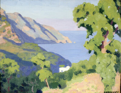Earl Henry Brewster, 'From St. Agatha, Bay of Salerno', 1937