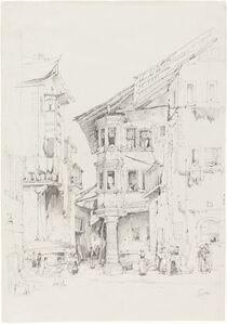 Samuel Prout, 'Sion', ca. 1830