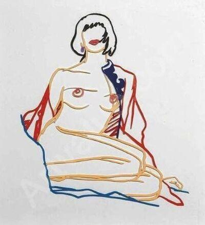Tom Wesselmann, 'Monica Sitting Undressing', 1986