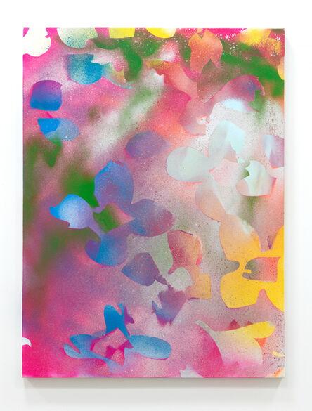 Zeke Williams, 'Dogwood (pink, purple, silver, yellow)', 2018