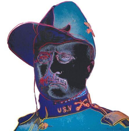 Andy Warhol, 'Teddy Roosevelt (FS II.386)', 1986