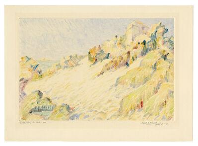 Sybil Andrews, 'Le Petit Bay, St. Malo', ca. 1925