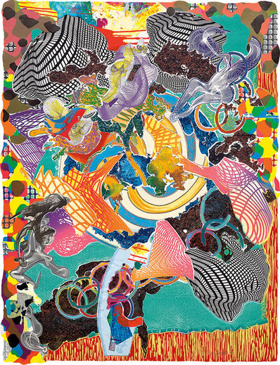 Frank Stella, 'Juam, from Imaginary Places II', 1997