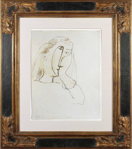 Pablo Picasso, 'Femme appuyant sa tête sur sa main, Portrait of Dora Maar', 1943