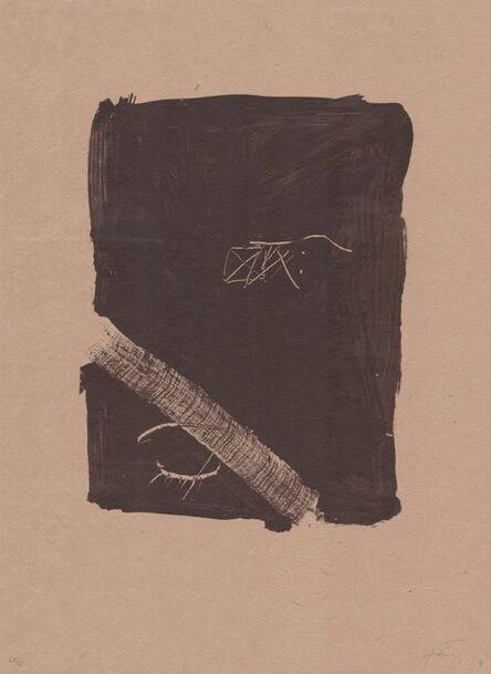 Antoni Tàpies, 'Llambrec material V', 1970-1980