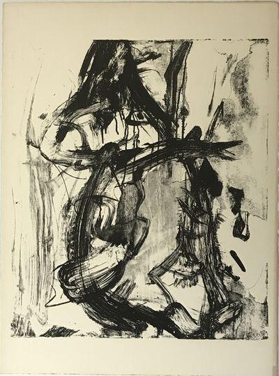 Willem de Kooning, 'Untitled (Litho #6)', 1966