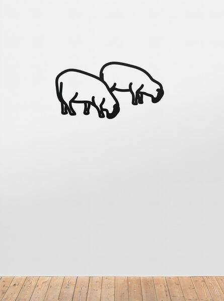 Julian Opie, 'Sheep 3.', 2015