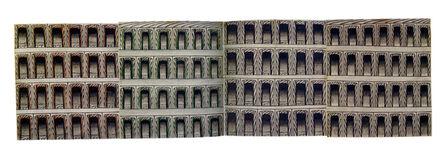 Martín Ramírez, 'Untitled (Arches)', 1960