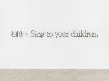 Tony Lewis, '418 ♦ Sing to your children.', 2015