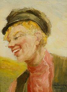Leon Gaspard, 'Head of Russian Boy'