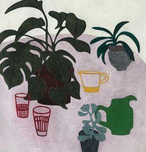 Angela A'Court, 'Plant Table', 2019