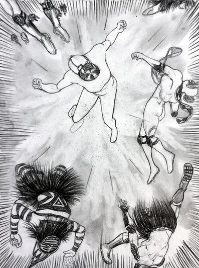 Robert Pruitt, 'Fantastic Sagas #3: Page 12, Panel 1', 2013