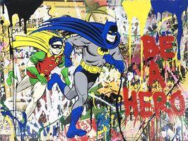 Mr. Brainwash, 'Batman & Robin', 2016
