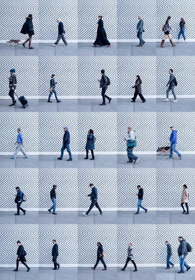 Xan Padron, 'Time Lapse. SoHo, NYC', 2016