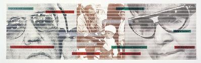 Sue Williamson, 'Truth Games: Winnie Mandela and the assassination of Dr Asvat', 1999